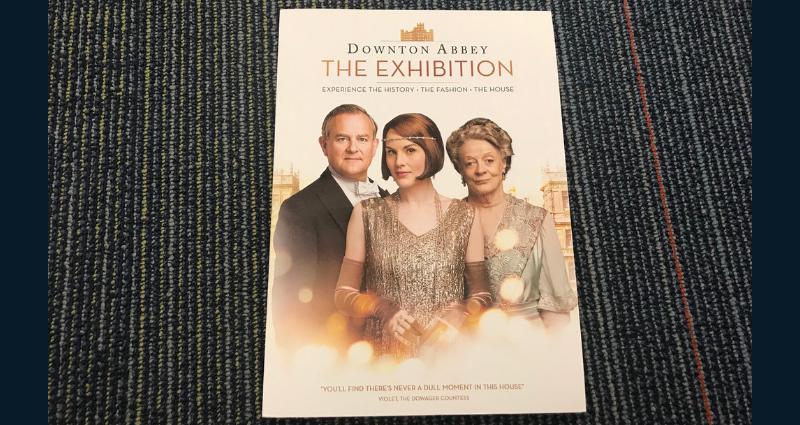 Downton Abbey exhibition book