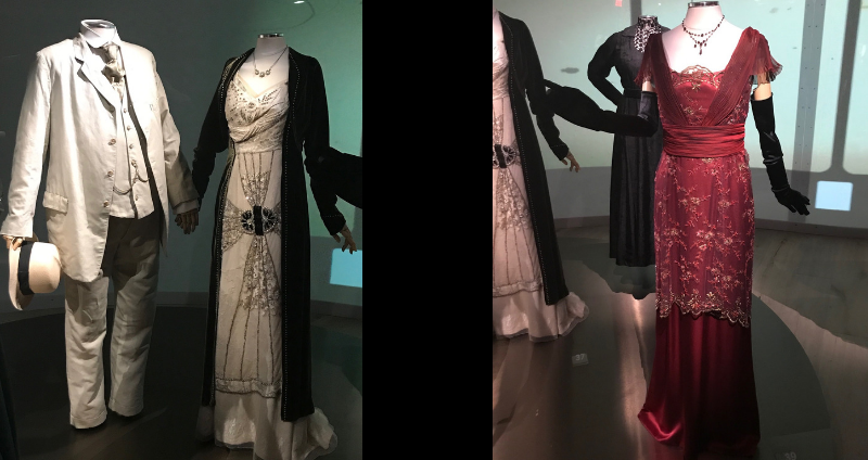Costumes worn by the cast of Downton Abbey at SCAD Fash