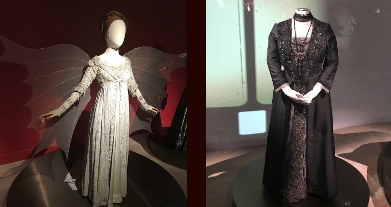 Costumes from Ever After and Downton Abbey at SCAD Fash