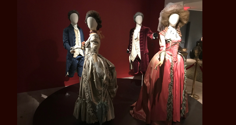 Costumes worn by the cast of The Duchess at SCAD Fash