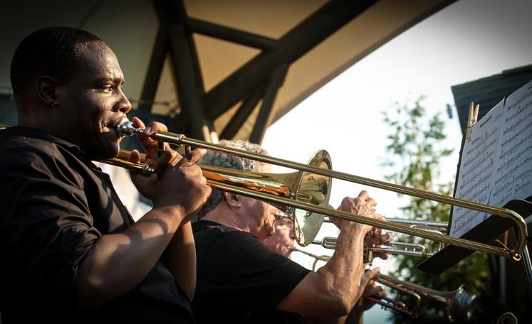 AU Jazz Ensemble Brass
