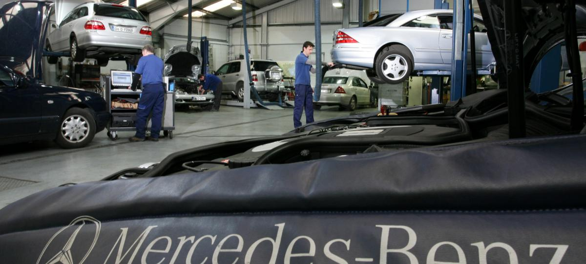 Mercedes benz teams up with gwinnett tech for new for Mercedes benz of gwinnett