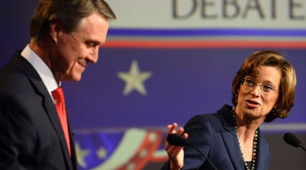 Senate debate Perdue and Nunn