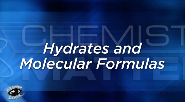 Chemistry Matters Unit 6 Segment C Georgia Public Broadcasting