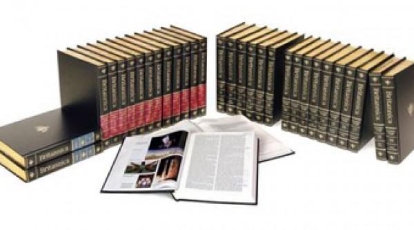 A new Encyclopædia Britannica print set will no longer be published. Photo courtesy NPR.