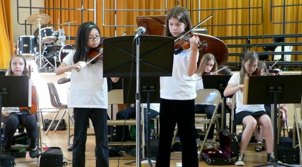 Does your elementary school have an orchestra?