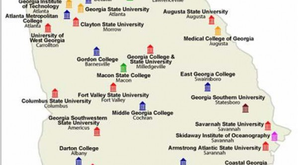 Map Of Colleges In Georgia.Josephine Bennett Georgia Public Broadcasting