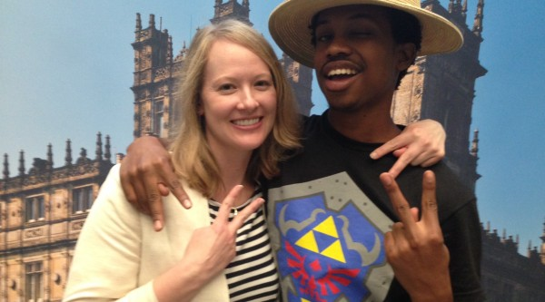GPB's Rickey Bevington with singer/songwriter Raury.