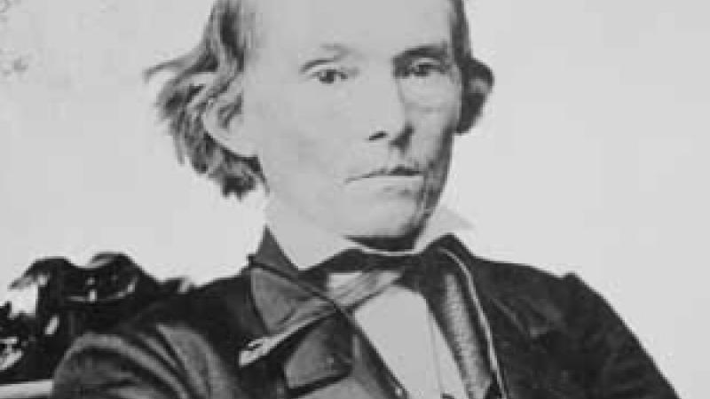 Alexander Stephens argued against Georgia's secession.  He later became Vice President of the Confederacy