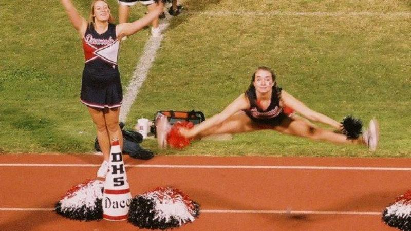 Fall 2008 Dunwoody High School Football Cheerleading