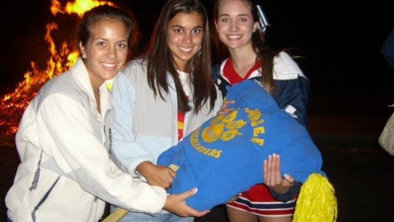 Dunwoody High School Homecoming Week 2006 Bonfire