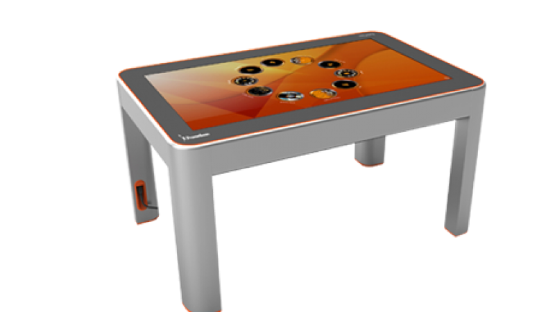 ActivTable is an Interactive Table from Promethean. (Photo courtesy Prometheanworld.com.)