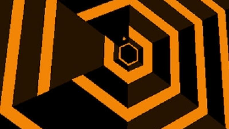 Super Hexagon is mean... that is why you love it.