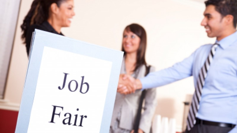 There are ten career fairs and events scheduled for December 2nd - December 6th.