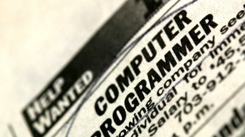 Computer Programming Jobs Remain in High Demand