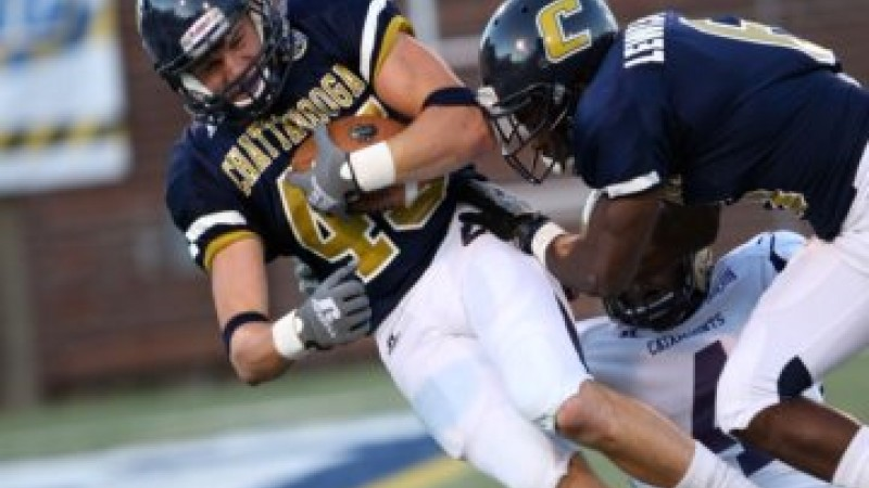 Mocs RB Ryan Consiglio. Photo courtesy UT-Chattanooga