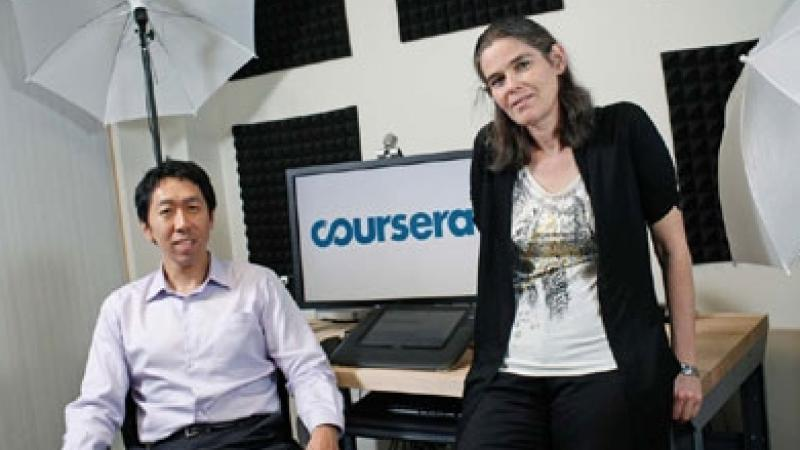 Andrew Ng & Daphne Koller created Coursera to Literally Change the World of Higher Learning