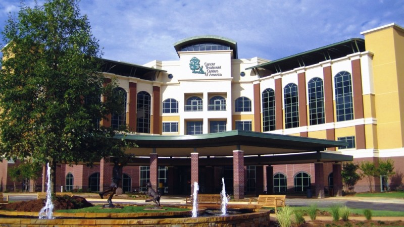 Cancer Treatment Centers of America is located in Newnan.