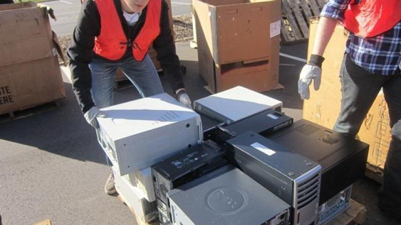 Recycling Electronics can mean jobs & savings