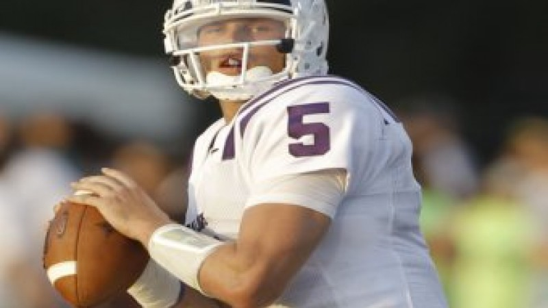 Furman QB Chris Forcier. Photo courtesy Furman University