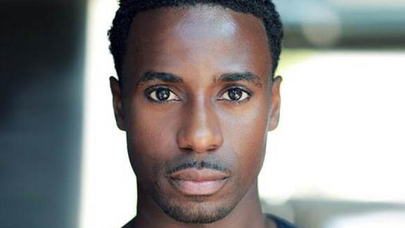 UK actor/dancer Gary Carr is Jack Ross, Downton Abbey's first black character. Image courtesy ITV.