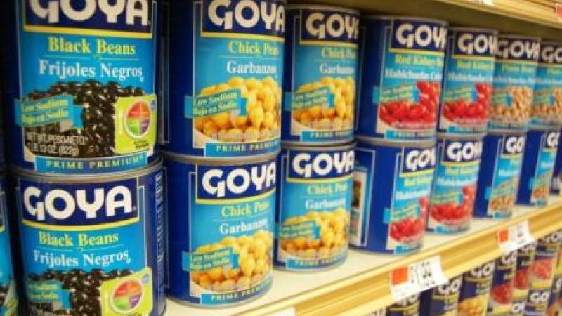 Goya has been known for their Latin American food since 1936.