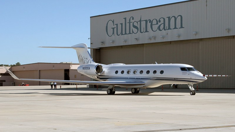 Construction is scheduled to be completed by May 2015 on Gulfstream's 110,000 square foot maintenance facility.