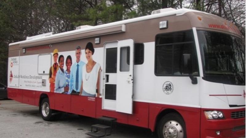 Dekalb Jobs Bus - Mobile Career Center