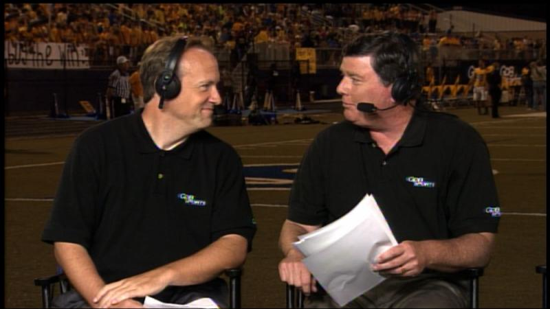 Jon Nelson and Mark Harmon on GPB's Football Fridays in Georgia
