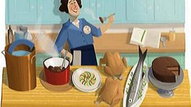 Today's Google Doodle Celebrates Julia Child's 100th Birthday