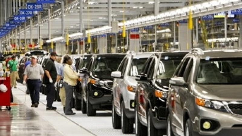 Kia Manufacturing Plant