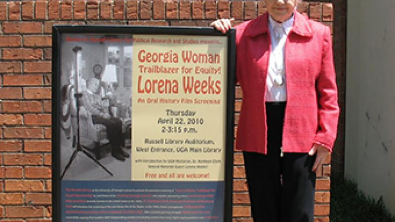 Lorena Weeks successful sued Southern Belle in 1967 for passing her up for a promotion.