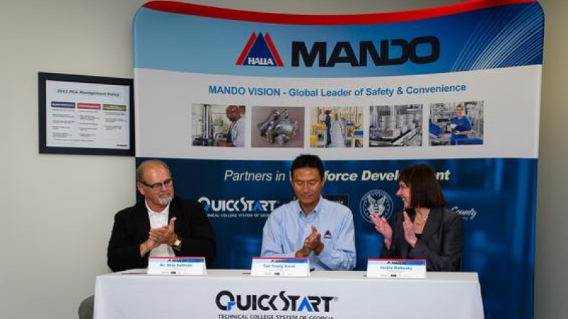 Mando America is a Korean Automotive Parts Manufacturer Located near LaGrange, GA
