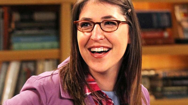 Actress Mayim Bialik plays and is a real neuroscientist. Image from nbcbayarea.com