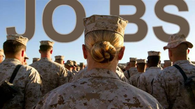 Bradley Morris helps employers hire military for civilian positions.