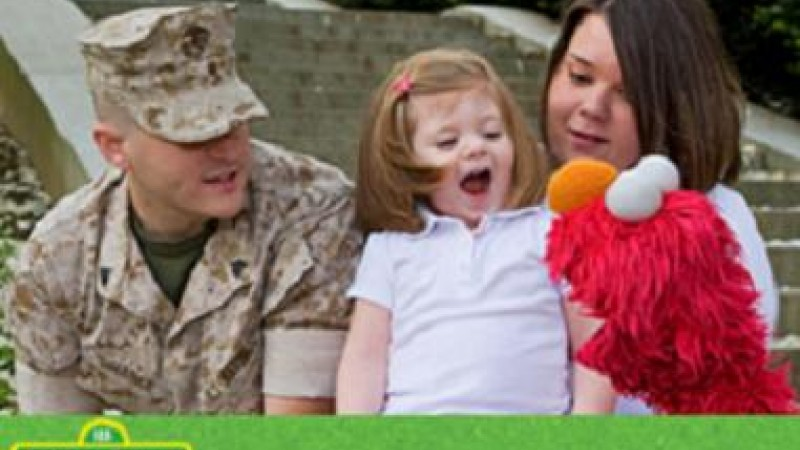 Sesame Workshop supports military families.