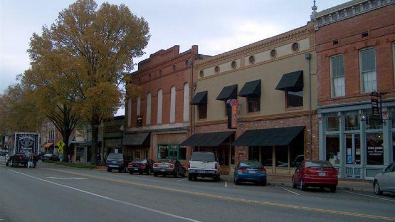 The Milledgeville Main Street Program has helped attract 25 new businesses to the downtown area.