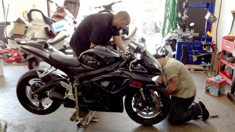 Georgia Schools Excel in Teaching Motorcylce Repair