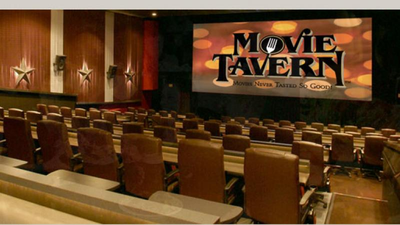The Movie Tavern has three locations:  Tucker, Suwanee, and Roswell