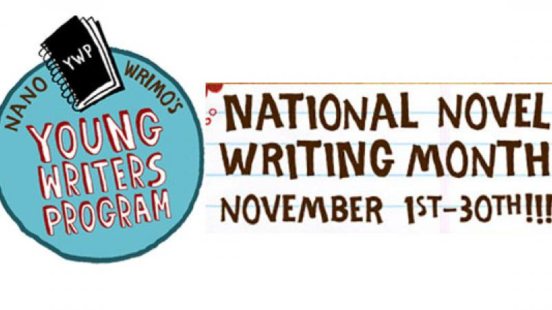 National Novel Writing Month starts this Friday!