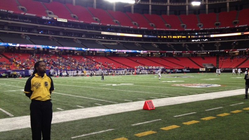 The Corky Kell Classic at the Georgia Dome on August 25, 2012