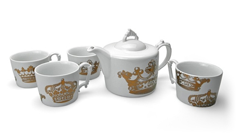 English Crown Tea Set