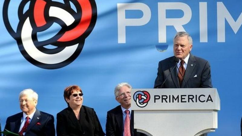 Governor Nathan Deal Helps Open the New Primerica Global HQ in Gwinnett (photo courtesy of Gwinnett Post)