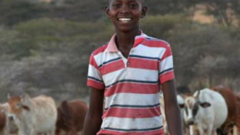 "Kenyan teen Richard Turere came up with ""lion lights"" to save his family's cattle."