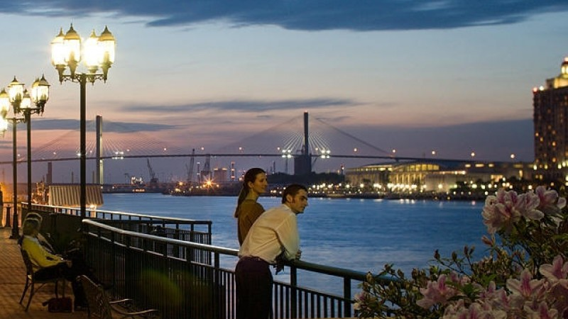 The Savannah Riverfront is a Major Attraction for Tourism