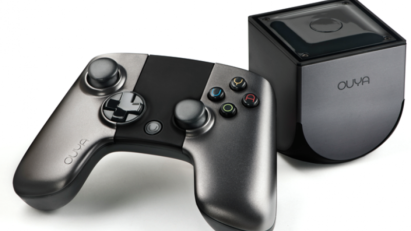 The new OUYA game console.  Yep.  That's it.  (image via ouya.tv)