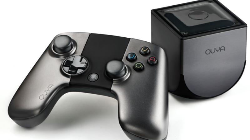 The new OUYA game console.  Yep.  That's it.  (image via ouya.tv)