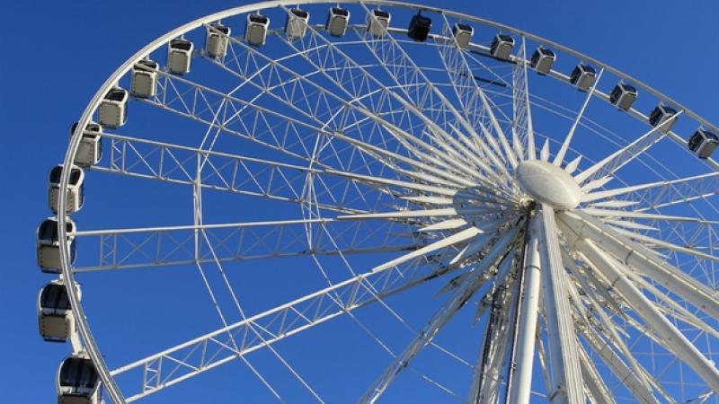 A 20-story Ferris Wheel Could be Open by June in Atlanta