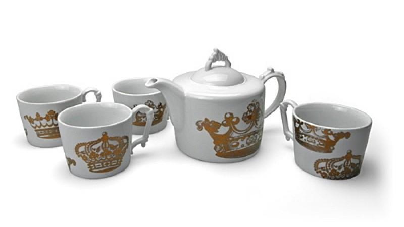English Crown Tea Set