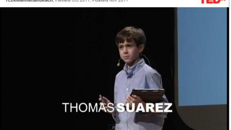 Thomas Suarez: A 12-year-old app developer